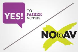 Alternative Vote referendum, London, 5th May 2011