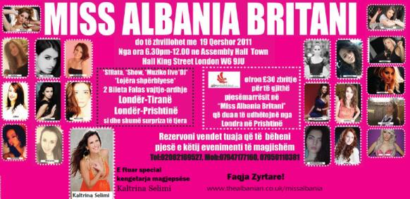 Miss Albania Britani - 19 Qershor 2011