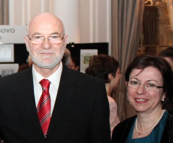 Zt Mal Berisha dhe Znj Teuta Starova - 17 shkurt 2012, Londer
