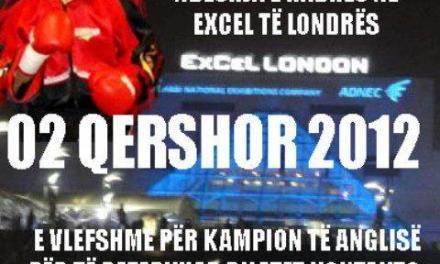 <!--:en-->Kreshnik Qato, WBF World Champ is boxing in London on 2nd June 2012<!--:--><!--:sq-->Kreshnik Qato, WBF Kampion Boteror, bokson në Londër me 2 qershor 2012<!--:-->
