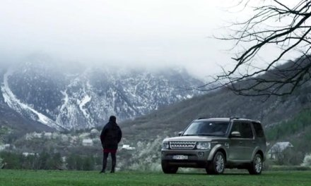 Land Rover test their new jeep in Accursed Mountains of Albania