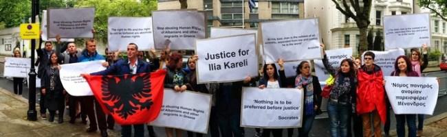 Komuniteti shqiptar në Britani ngre zërin kundër shkeljeve të të drejtave të emigrantëve shqiptarë në Greqi