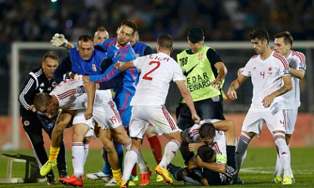 The drone incident was an effect not a cause of the last night's Serbia-Albania match abandonment