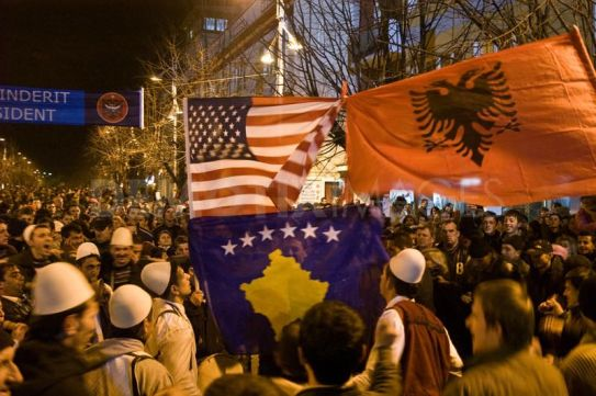 Kosovo Independence Day celebration