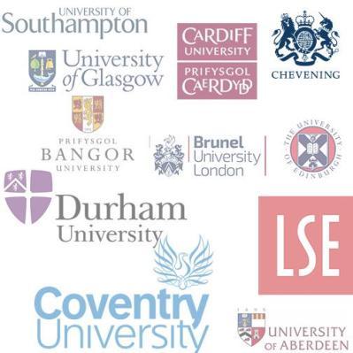 British universities' logos