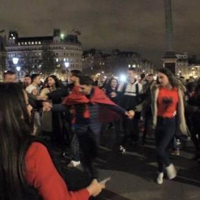 Per-dy London event, Trafalgar Square