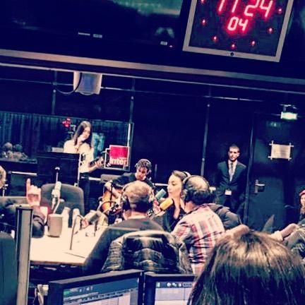 "Dua Lipa performing live on on ""La Bande Originale"", France"