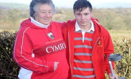 Welsh woman rebuilds Albanian youngster's life