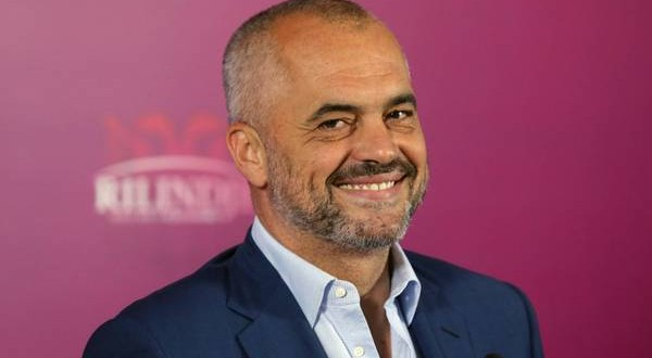 Albania's Prime-minister Mr Edi Rama