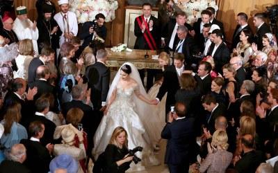 Albania hosts its royal wedding as King Leka II marries longtime fiancee Elia Zaharia