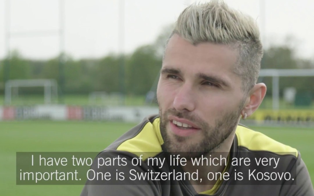 Watford midfielder Valon Behrami calls for solidarity with refugees (Video)