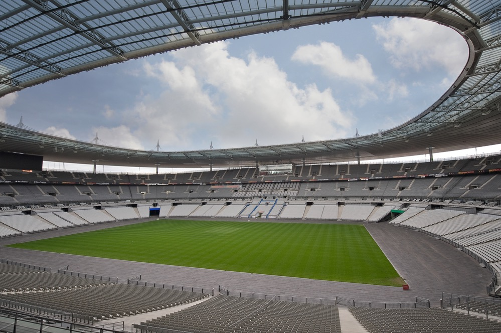 Euro 2016  A look back at the construction of the Stade de France