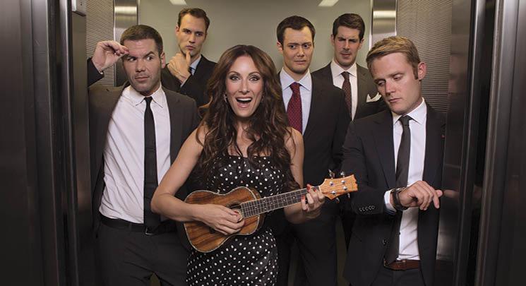"""Laura Benanti playing the Ukulele on """"Nashville"""""""