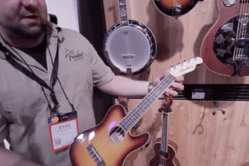 Fender Ukulele NAMM2016