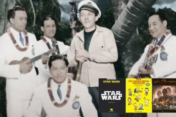How Hawaiian Music Changed the World, plus Reviews of New Books of Jake Shimabukuro, Star Wars, and Peanuts Sheet Music