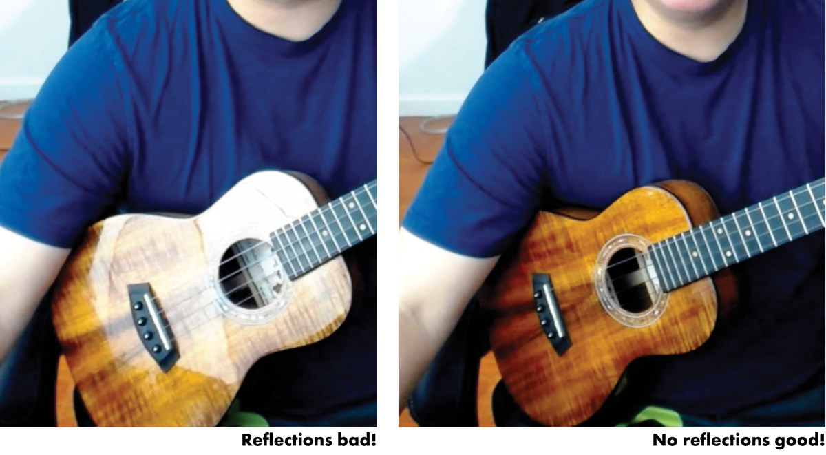 DIY Ukulele Video Tips Lessons Uke Magazine Craig Chee Reflections