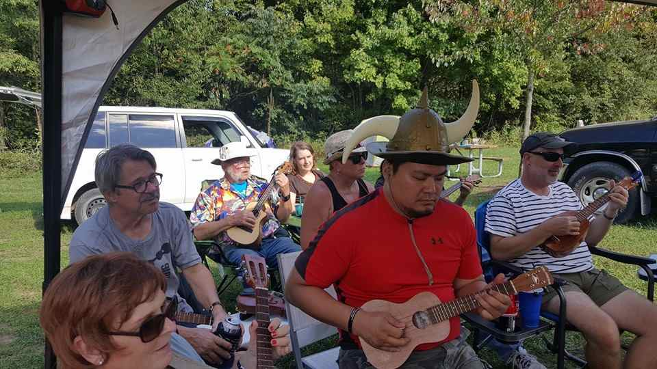 What, your ukulele camp out doesn't have a Viking?
