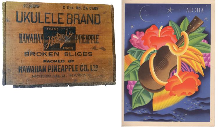 Uke Collection Jumpin Jim Vintage Ephemera Hawaii Pineapple Matson