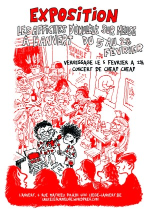 "Vernissage de l'expo ""Affiches"" - Fifi"