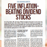 Five inflation-beating dividend stocks