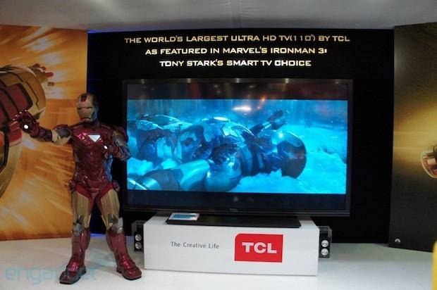 TCL 110 Zoll Ultra HD TV
