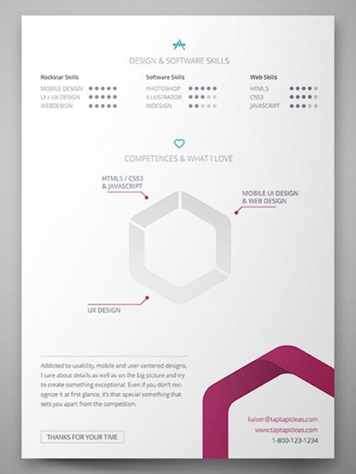 84 best free creative resume templates updated