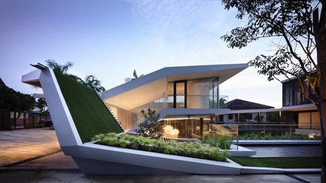 An architect's stylish new home in singapore
