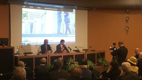 Ospedale di Terni, lectio magistralis con Brunello Cucinelli