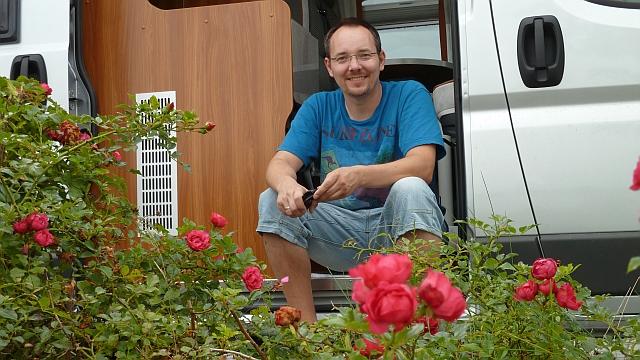 1. Tour mit Rudi - Flensburger Förde Aug 2011