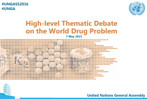 High-level Thematic Debate on the World Drug Problem - 7 May 2015