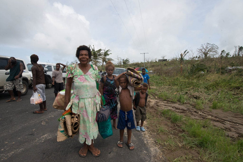Tens of thousands of children are in urgent need of assistance in Vanuatu after Cyclone Pam ripped through the country. Photo: UNICEF Pacific