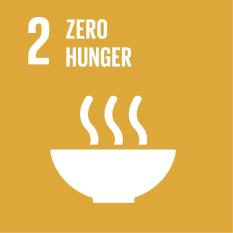 Goal 2: End hunger, achieve food security and improved nutrition, and promote sustainable agriculture