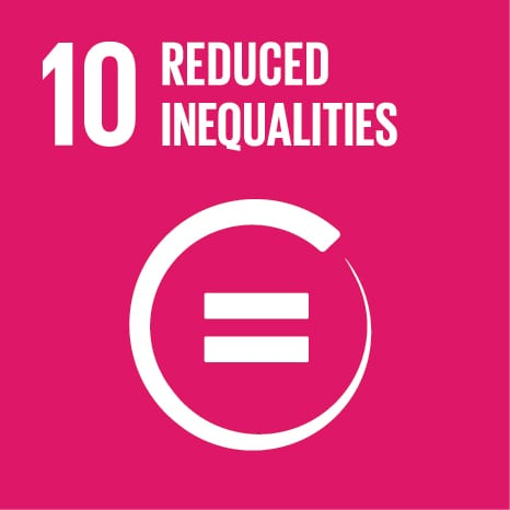 Goal 10: Reduce inequality within and among countries