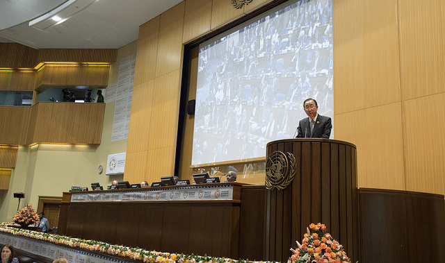 Secretary-General addresses the Third International Conference on Financing for Development in Addis Ababa, Ethiopia. Photo: UNECA