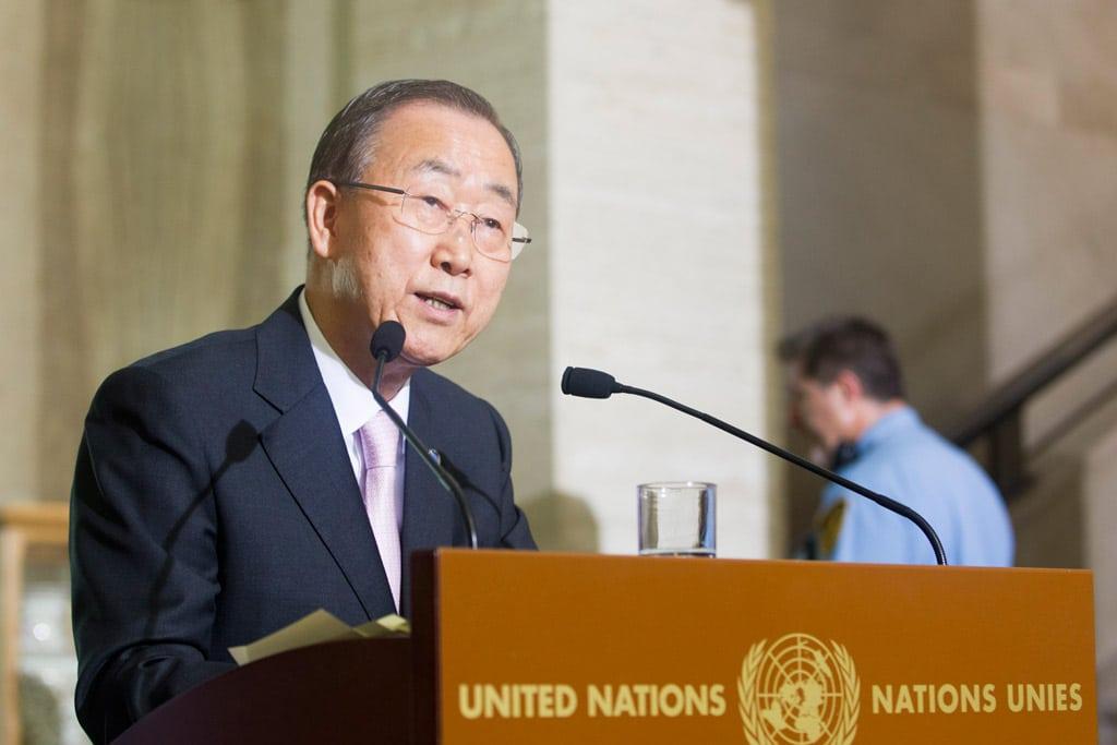 Secretary-General Ban Ki-moon. UN Photo/Rick Bajornas (file)
