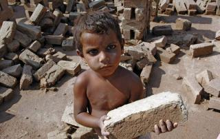 Photo: Bonded child labourer, Pakistan.
