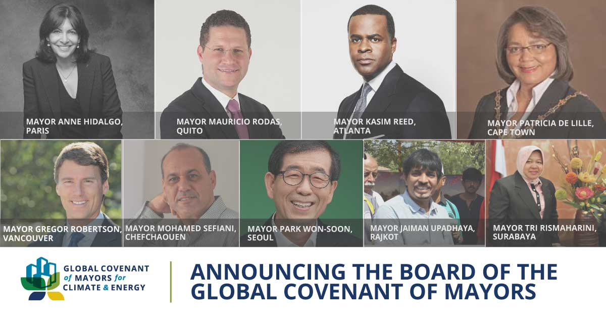 9 Mayors on the Board