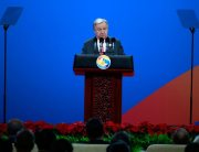 Secretary-General António Guterres addresses the opening of the Belt and Road Forum-in Beijing, China. Photo: UN/Zhao Yun