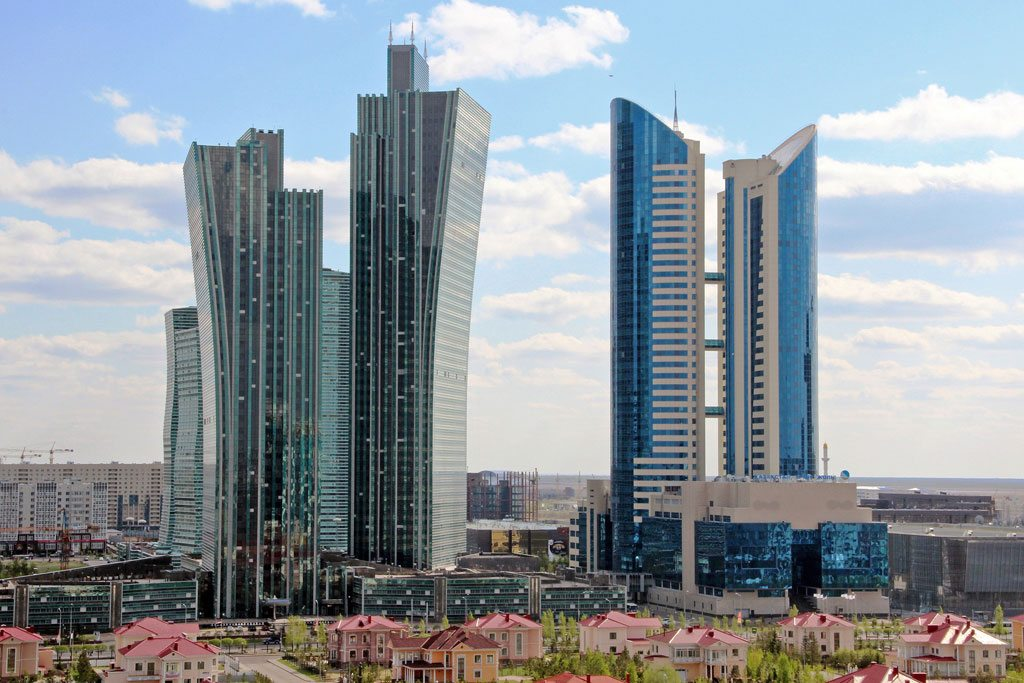 View of downtown Astana, the capital of Kazakhstan. Photo: World Bank/Shynar Jetpissova