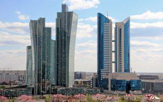 View of downtown Astana, the capital of Kazakhstan. Photo: World Bank/Shynar Jetpissova