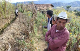 One of the areas most affected by extreme hazards, in particular natural hazards, is the Dry Corridor of Central America, with recurrent droughts, excessive rains and severe flooding affecting agricultural production. Photo: FAO
