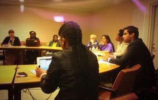 """Panellists in the forum """"Harnessing the Potential of Public Space for Women and Youth"""""""