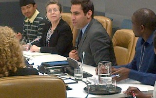 The Secretary-General's Envoy on Youth participates in event with UN-Habitat