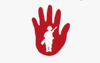 red hand day poster