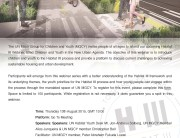 UNMGCY HII WG Webinar _1 13th Aug 2015_ Flyer  (1) (1)