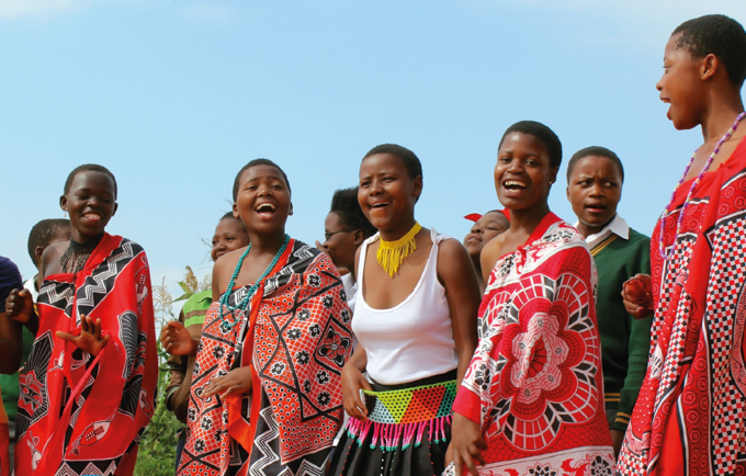 Traditional ceremonies provide an entry point for sexual and reproductive health messaging
