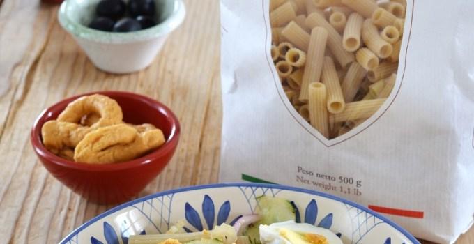 """Insalata di pasta fredda con """"capunata molisana"""""""