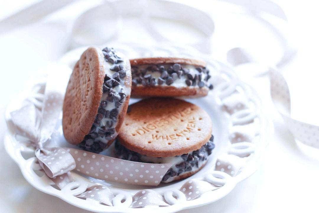 biscotto gelato cookie vegan