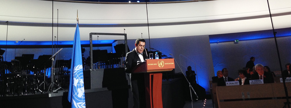 Al-Nasser Remarks at the Concert for Understanding Across Civilizations