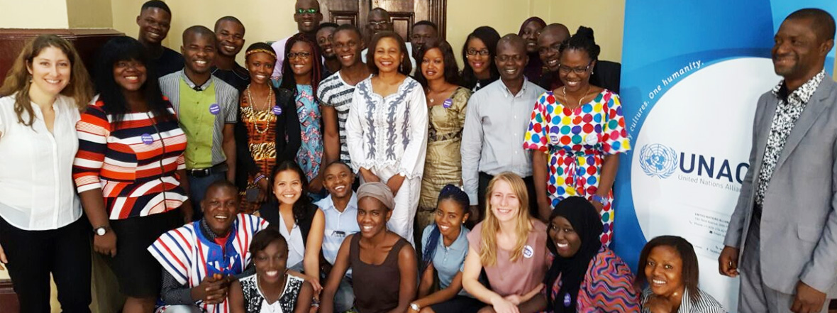 Kick-off of the UNAOC Young Peacebuilders in West Africa workshop